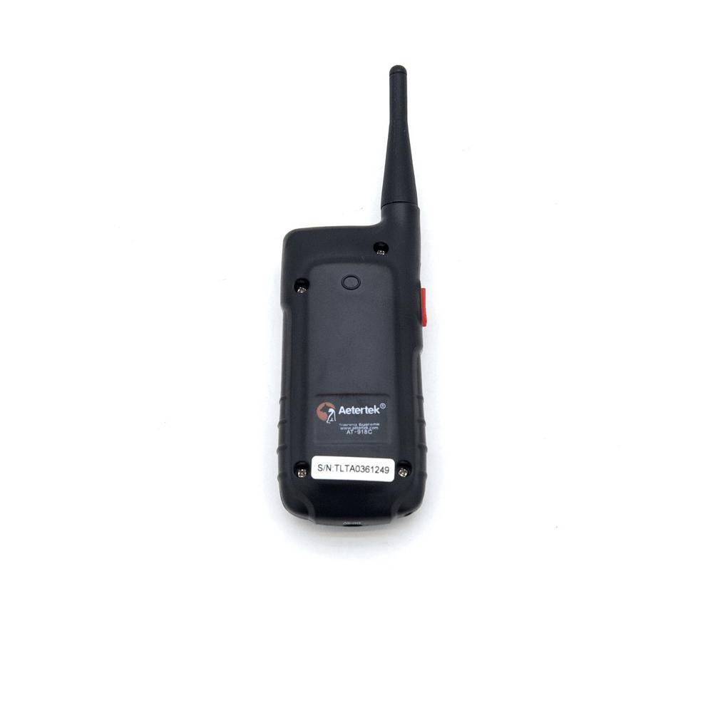 Электронный ошейник для дрессировки собак + антилай Aetertek AT-918C-1 (до 65 см) - 3